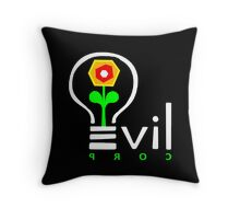 Evil Corp Logo Throw Pillow