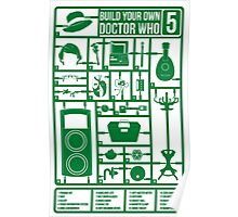 Build Your Own Doctor Who 5 Poster