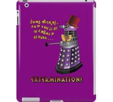 Willy Wonka Dalek iPad Case/Skin