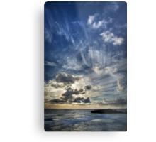 Cloud Evolution Metal Print