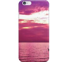 Sailing Into The Setting Sun iPhone Case/Skin