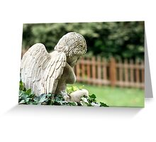 Angel in the Ivy Greeting Card