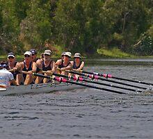 Pull - Riverway Rowing Club by Paul Gilbert