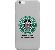 Chalmun's Cantina Coffee iPhone Case/Skin