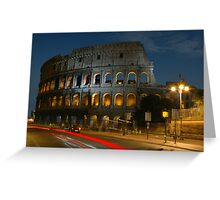 Colosseum at Dusk - 624 Greeting Card