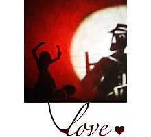 Love (clothing versions) Photographic Print
