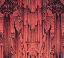 The Gates of Barad Dûr Sticker