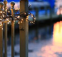 Pier Lights  by Mark Haynes Photography