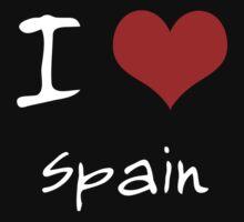 I love Heart Spain Kids Clothes