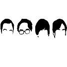 The Big Bang Theory crew by SublimeKush