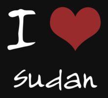 I love Heart Sudan Kids Clothes