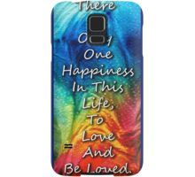 Love Art - To Be Loved - By Sharon Cummings Samsung Galaxy Case/Skin