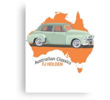 Holden FJ - Australian Classic Car Canvas Print