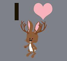 I heart Jackalope by Eggtooth