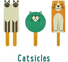 Catsicles II by Christopher N