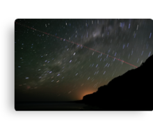 Startrails and Human Journeys #2 Canvas Print