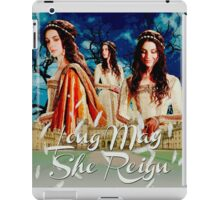 Long May She Reign iPad Case/Skin