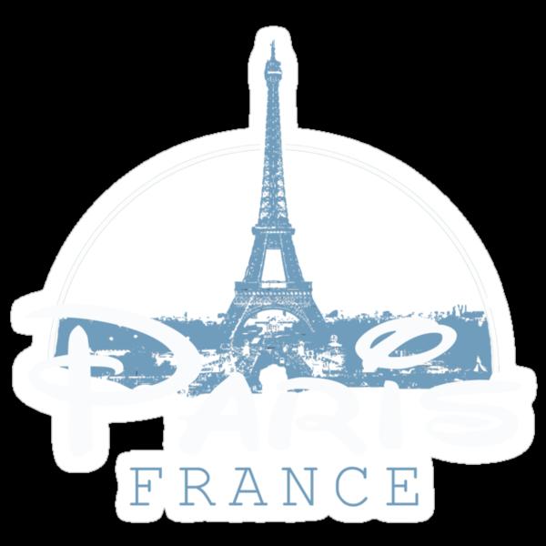 Paris T-Shirt by Fl  Fishing