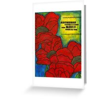 Mama's Poppies -FINAL Greeting Card