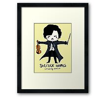Sherlock is Not a Psychopath Framed Print