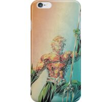 Aquaman Polygon iPhone Case/Skin