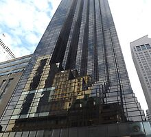 Classic Architecture, Trump Tower, 5th Avenue, New York City by lenspiro