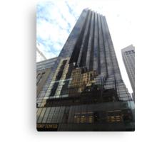 Classic Architecture, Trump Tower, 5th Avenue, New York City Canvas Print