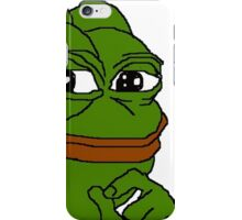 smug pepe iPhone Case/Skin