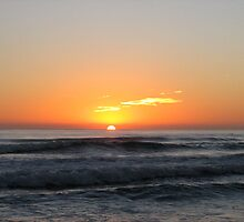 Currumbin Beach sunrise by L Spittall
