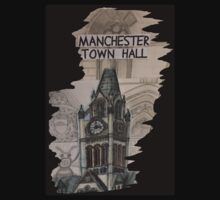 Manchester Town Hall by 65MYA