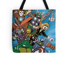 Teenage Mutant Ninja Avengers Tote Bag
