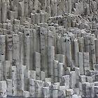 Basalt Columns - Iceland by Englund