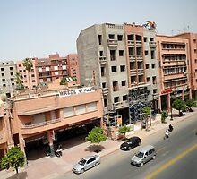 Busy Street in Morocco by Stuart Blythe