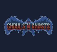 Ghouls' N Ghosts (Genesis) Title Screen by AvalancheShirts