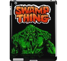 Swamp Thing (Nes) Title Screen iPad Case/Skin