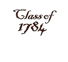Class of 1784 Photographic Print