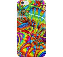 Psychedelizard iPhone Case/Skin