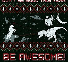 EPIC CHRISTMAS SWEATER YEAH!!! by BeanePod