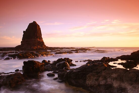 Pulpit Rock-Cape Schanck-Victoria by Mark Jones