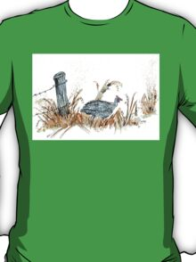 Guineas are winged wonders! T-Shirt