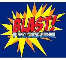 Blast Processing Photographic Print