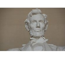 Lincoln statue Photographic Print