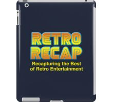 Retro Recap Logo iPad Case/Skin