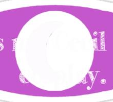 Cecil Palmer cosplay Sticker