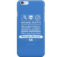 The Office Dunder Mifflin - Rabies Awareness Fun Run iPhone Case/Skin