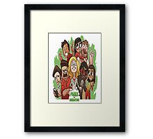 Parks & Recreation (Animated) Framed Print