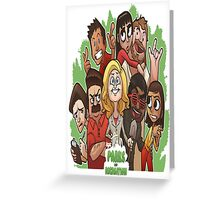 Parks & Recreation (Animated) Greeting Card