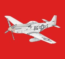 North American Aviation P-51 Mustang Kids Clothes
