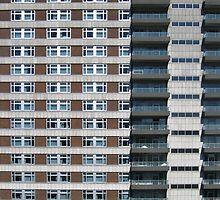 Urban Apartments building - condominium  by Ron Zmiri