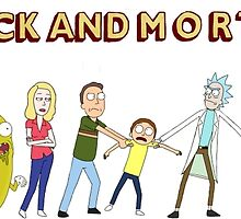 Rick & Morty by Candice-Iva